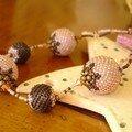 Mimi's Beaded Beads Pêche et Chocolat