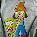 Sweat SPONGE BOB X PARAPPA THE RAPPER