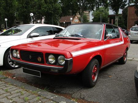 RENAULT 17 Gordini phase 2 1976 à 1979 Retrorencard 1