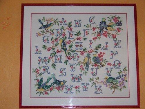 Abécédaire oiseaux