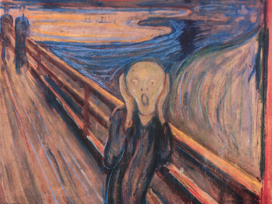 Depression Le cri de Munch