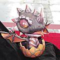 Bébé dragon en papier (Anigetter)