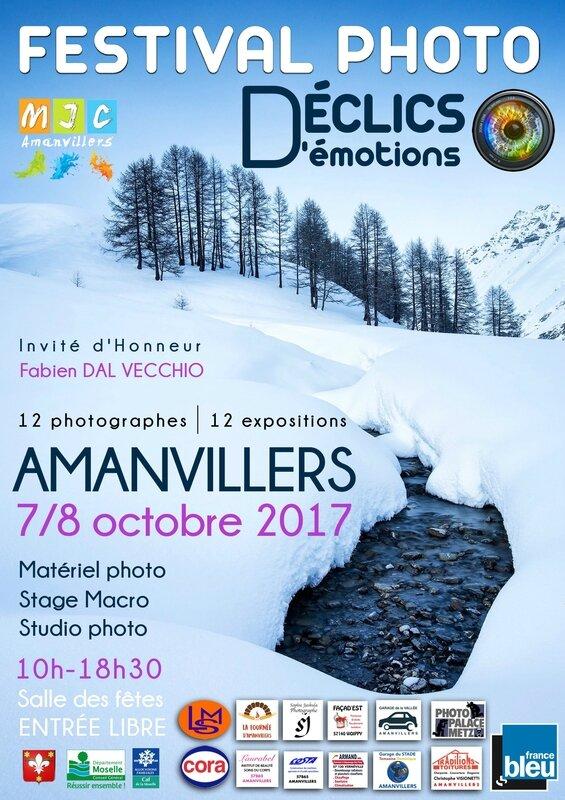 Affiche festival DÉCLICS D'émotions