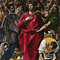 One of el greco's great masterpieces, the disrobing of christ, enhances the prado museum's collection