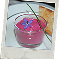 Mousse de betteraves
