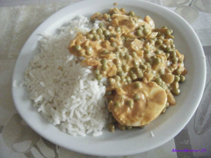 Oeufs durs curry8