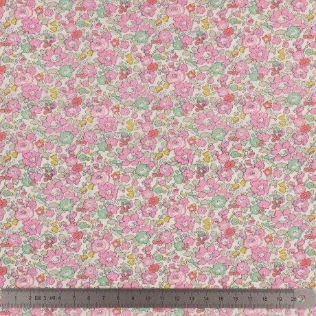 Tissu LIBERTY BETSY ANN sweet pink au mètre