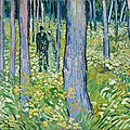 Cincinnati art museum's van gogh exhibition brings guests into the undergrowth