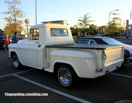 Chevrolet apache 31 stepside de 1958 (Rencard Burger King septembre 2012) 02