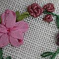 Broderie au ruban