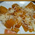 Courge butternut au four