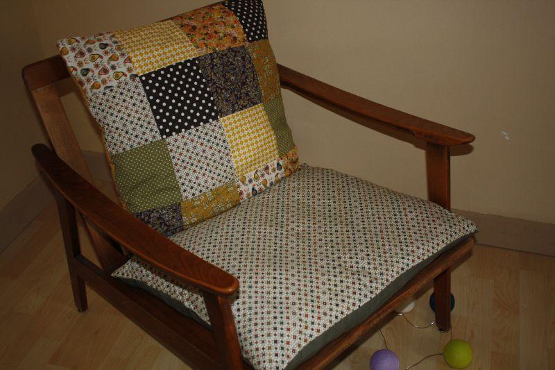 Coussins fauteuil