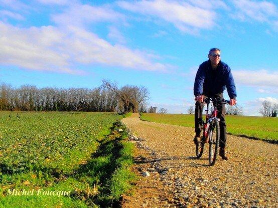 59) 17 1 2014 Boucle VTT la Fouillouse Hauts de St Bonnet de Mure
