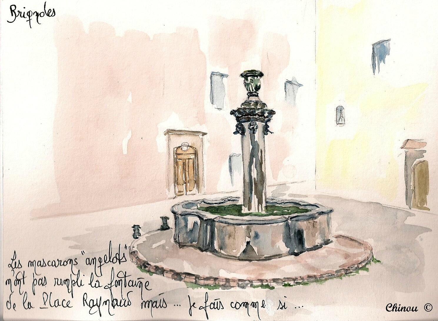 Brignoles Fontaine Place Raynaud