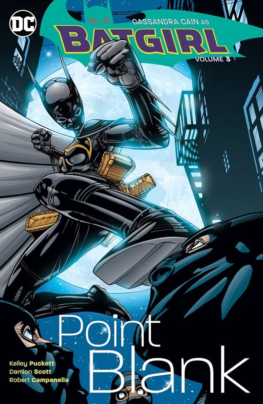 batgirl vol 03 point blank TP