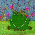 illust grenouille