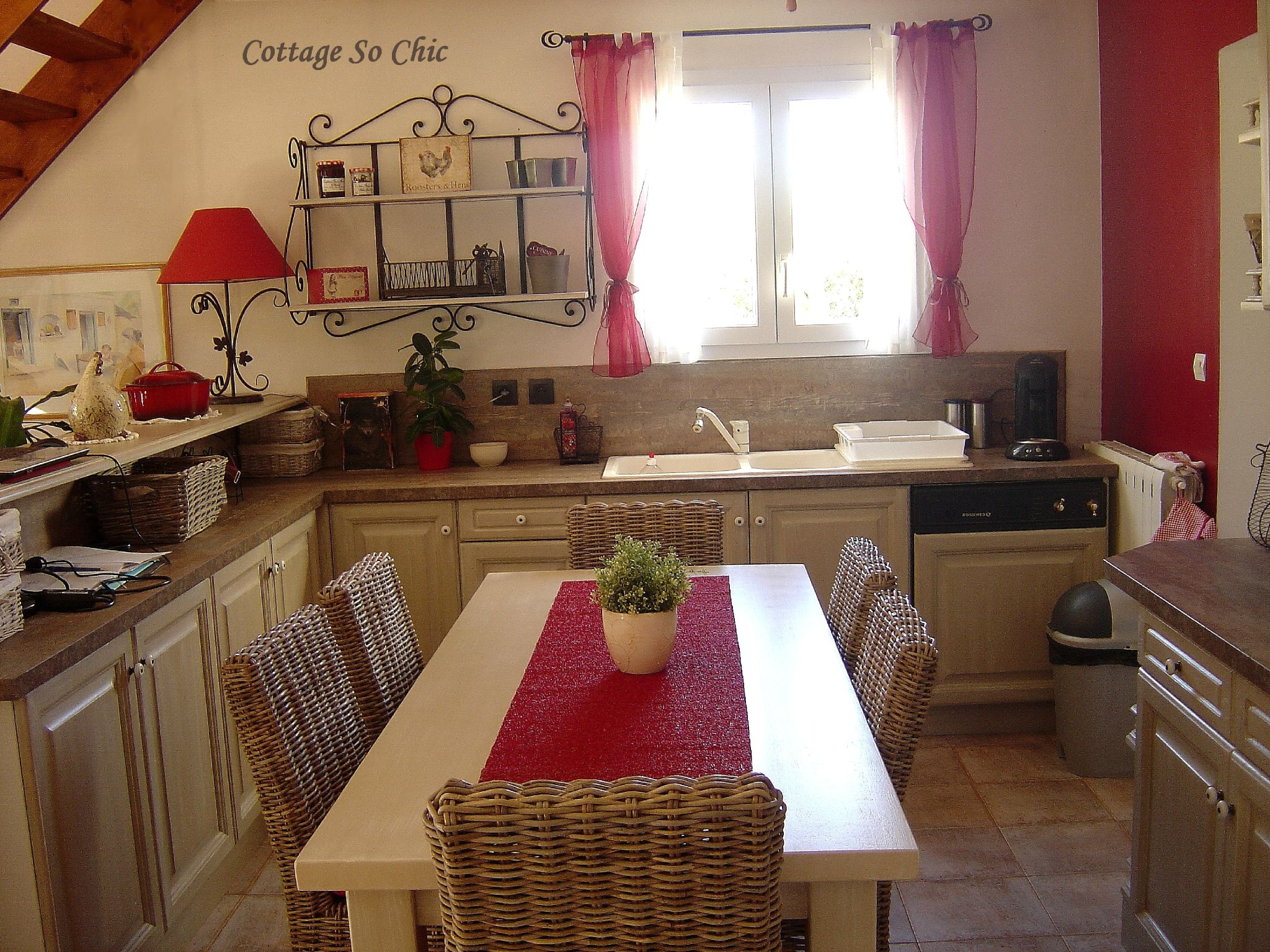 Esprit campagne chic cottage so chic for Decoration cuisine