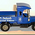 Y-12 Ford Model T Pickup G-Imbach A 4