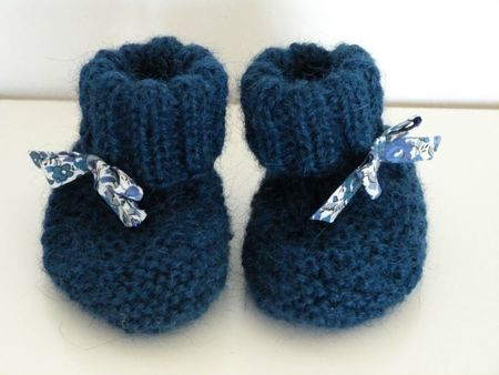 chaussons-bebe-tricot