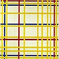 NEOPLASTICISME 1942_New york city_Mondrian(évolution finale)
