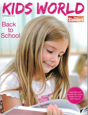 The Standard kids world September Cover