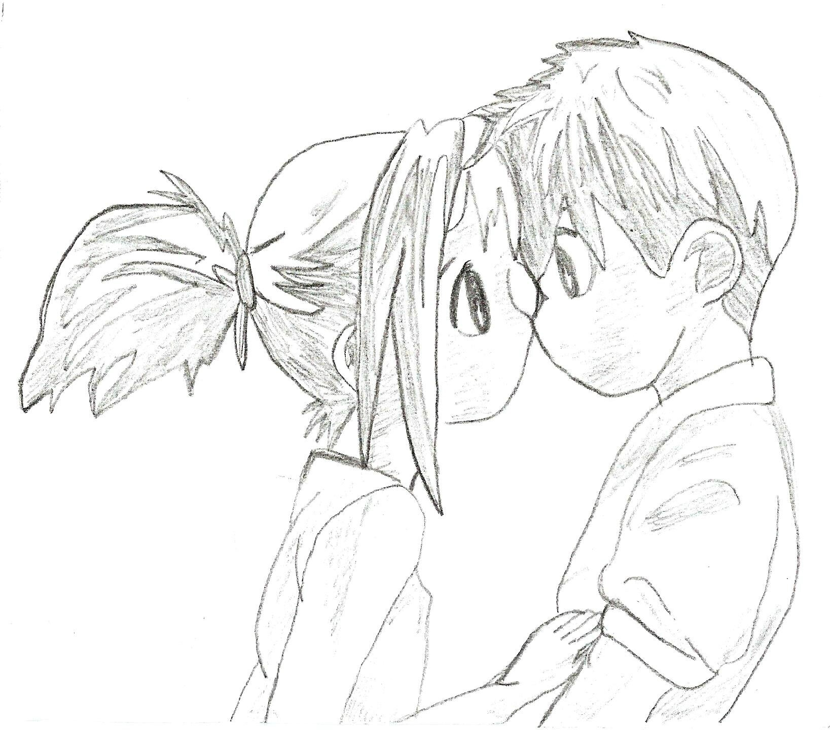 Manga fille mignonne dessin dessin de manga - Dessiner fille manga ...