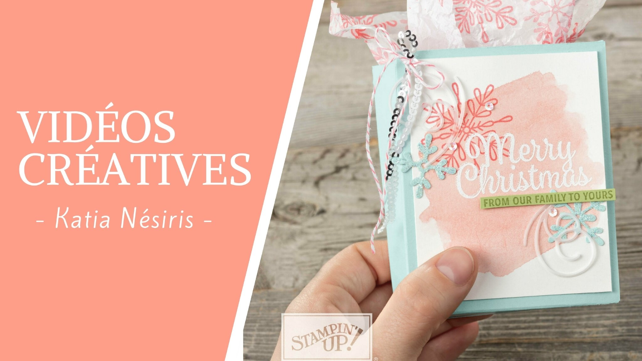 Vidéo créative : Carte de félicitations
