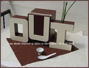 urne de mariage oui theme ivoire et chocolat oui__ivoire_chocolat____de_face_avec_deco oui__ivoire_chocolat____de_haut - Urne Tirelire Mariage