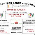 Rencontres musique et danse trad'auzitaines