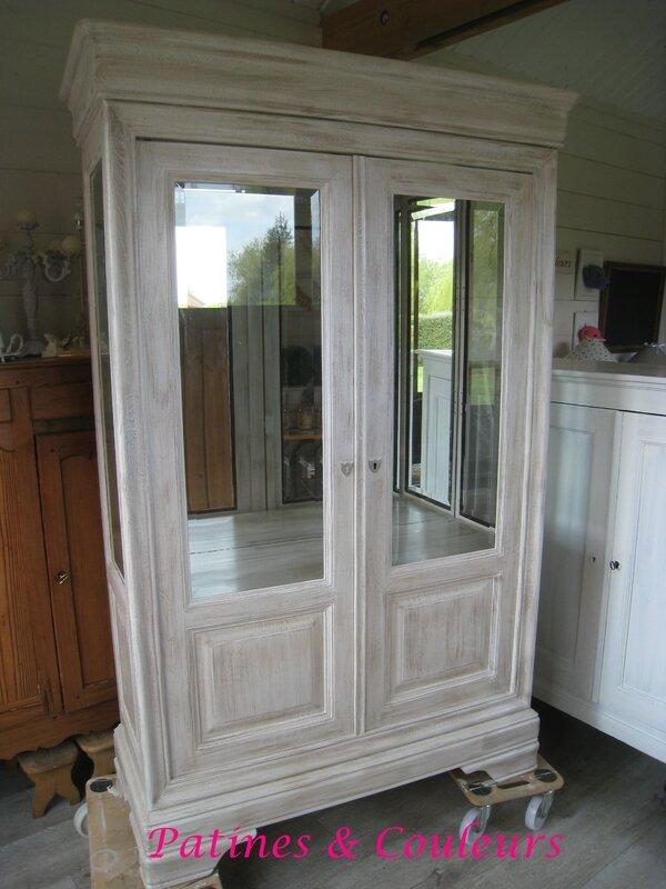 vitrine après