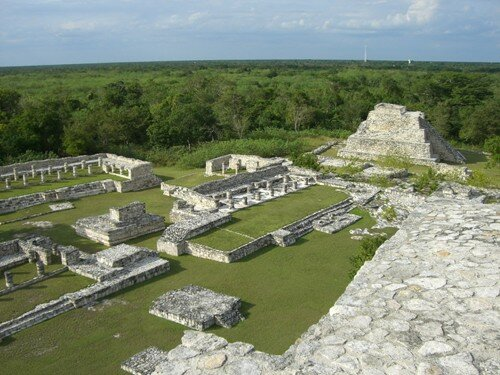 Mayapan - North View from top of Kukulcan Temple