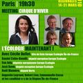 Grand meeting europe ecologie, mercredi 10 mars, 19h30, paris, cirque d'hiver