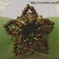 Bague fleur étoilée 2