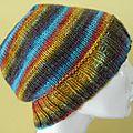 Bonnet en laine hands maiden