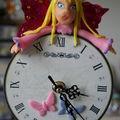 Une fée qui veille à l'heure...