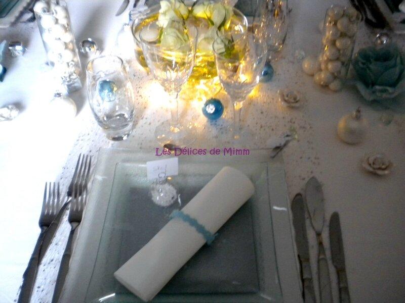 Ma table Noël Blanc 3
