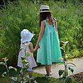 Petites filles en robes {toscane}