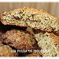 Cookies à la farine de maïs ( thermomix)