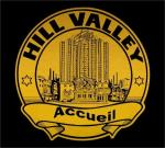 Hill Valley Police Car Decal - BTTFII