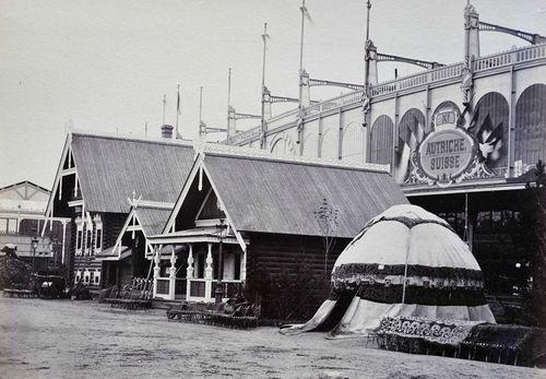 Exposition universelle 1867 Village russe