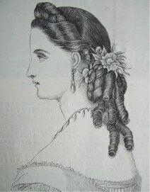 7ème suite de l'Histoire de la coiffure féminine