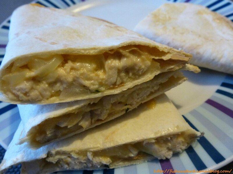 Quesadillas au poulet et au fromage de Mely