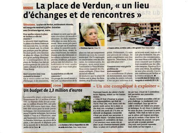 Place de Verdun 4 juillet 2013