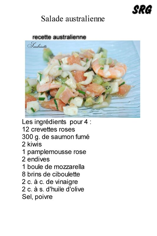 salade australienne (page 1)