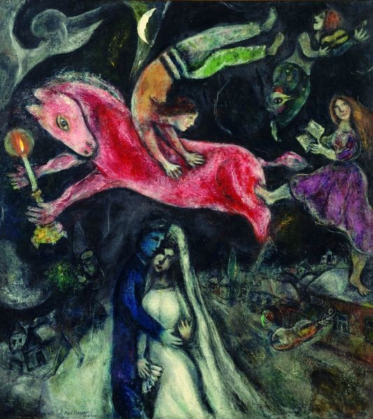 chagall le cheval_rouge-