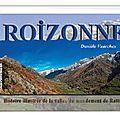 Roizonne – histoire illustrée de la vallée du mandement de rattier. un livre de danièle vuarchex