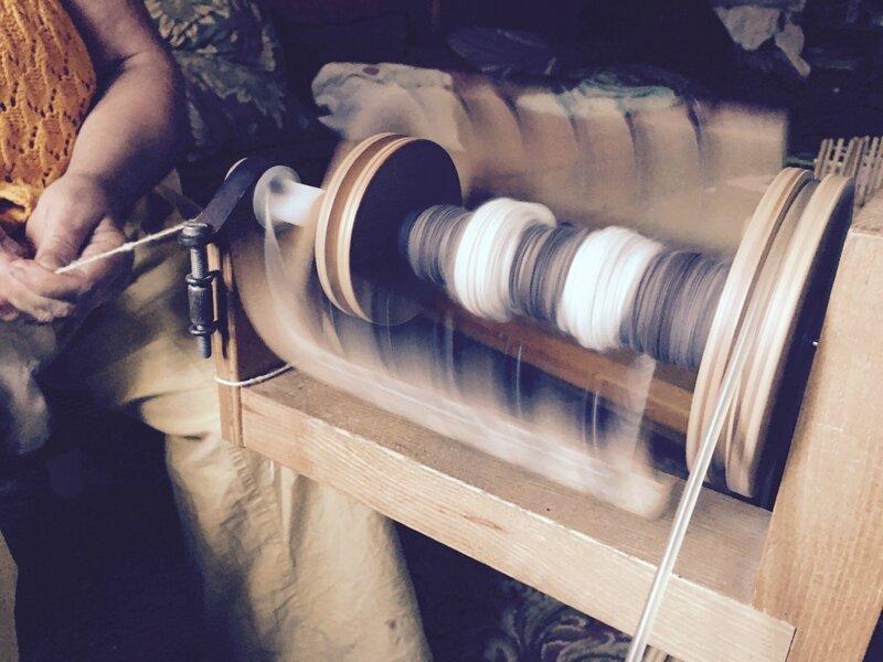 filage rouet