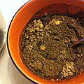 Masque ayruvédique : tulsi et brahmi ( avec hv coco)