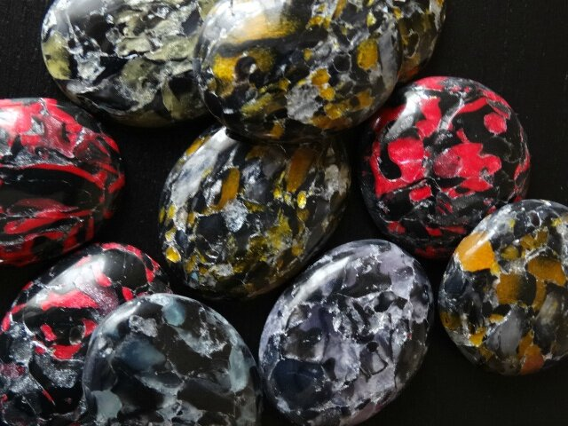 cabochons imitation quartz 015