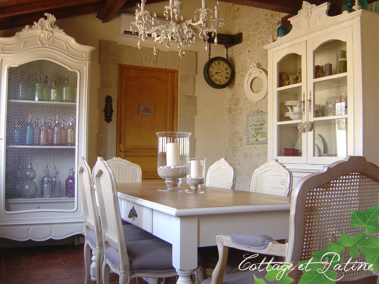 Table de salle manger cottage et patine le blog - Le bon coin 71 ameublement ...